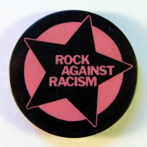 A Rock Against Racism Pin