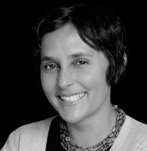 head shot of author Gabriella Coleman