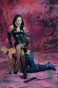 A depiction of a typical dominant-submissive relationship