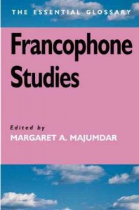 "book cover of ""Francophone Studies"""