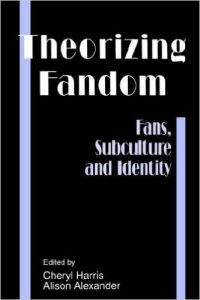"""Front cover of the book """"Theorizing Fandom"""""""