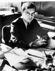 Portrait of Erving Goffman