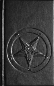 A picture of a pentagram, which is usually a symbol for Satanism