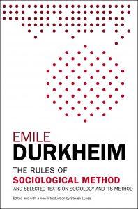 Cover of Durkheim's book on sociological method