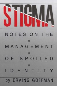 Cover of Goffman's book on stigma management.