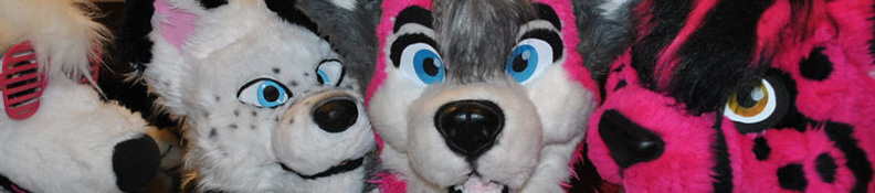 furrie costume heads