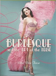 Dita Von Teese Art of the Teese book cover