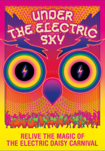Poster for Under the Electric Sky movie