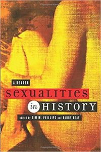 "The front cover of ""Sexualities in History: A Reader."""