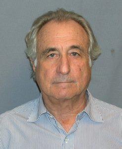 olor image (headshot) of Bernie Madoff, former stockbroker, financier, and investment adviser.