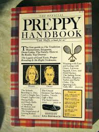 Image of the front cover of The Official Preppy Handbook by Lisa Birnbach