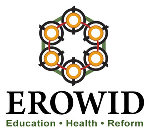 Hexagonal pattern that is the logo of the website erowid.org